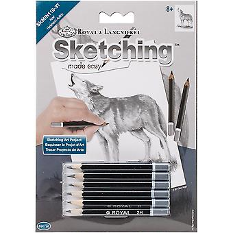 Sketching Made Easy Kit 5'x7