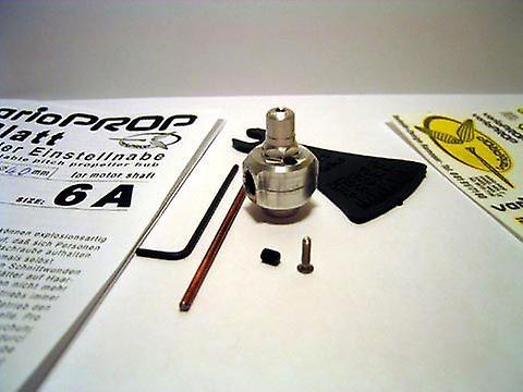 2-blade hub 4,0mm