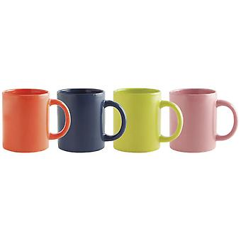 Quid Mug  32Cl Surt  New Happy Simply (Kitchen , Household , Mugs and Bowls)