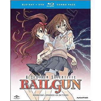 Certain Scientific Railgun: Complete Season 1 [Blu-ray] USA import