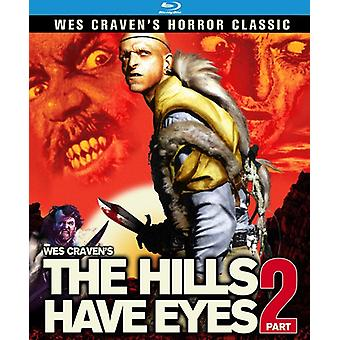 Hills Have Eyes: Del2 [BLU-RAY] USA import