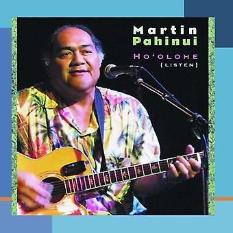 Martin Pahinui - Ho'Olohe (Lyt) [CD] USA importerer