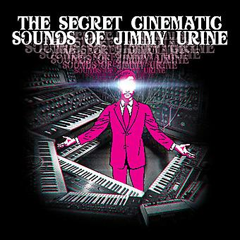 Jimmy urinen - Secret Cinematic lyde af Jimmy urinen [Vinyl] USA importerer