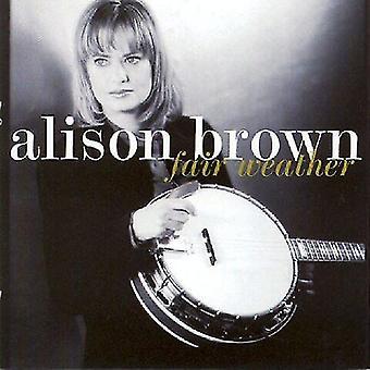 Alison Brown - importación de Estados Unidos buen tiempo [CD]