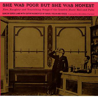 Derek Lamb - She Was Poor But She Was Honest: Nice Naughty & No [CD] USA import