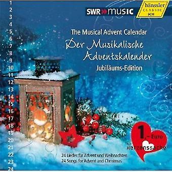 Händel/Piazzolla/Bach/Vivaldi/Gruber/Bernard/Hamme - musikalske julekalender: Jubil Ums-Edition [CD] USA import