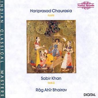 Chaurasia/Khan - Raga Ahir Bhairav [CD] USA import