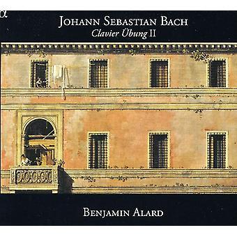Benjamin Alard - Johann Sebastian Bach: Clavier Bung II [CD] USA import