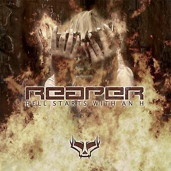 Reaper - helvede starter med en H [CD] USA import