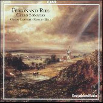 F. Ries - Ferdinand Ries: Cello Sonatas [CD] USA import