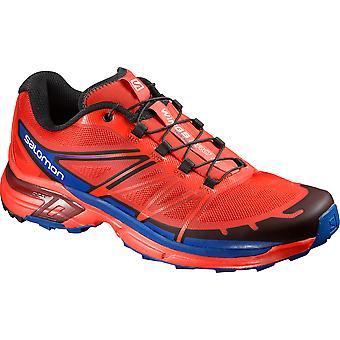 Salomon men's running shoe trail wings Pro 2 red - 390617