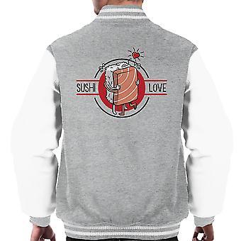 Sushi kjærlighet menn Varsity jakke