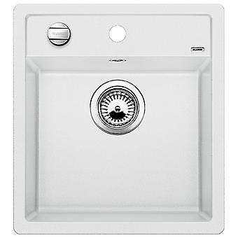 Blanco Dalago sink 45 automatic valve white