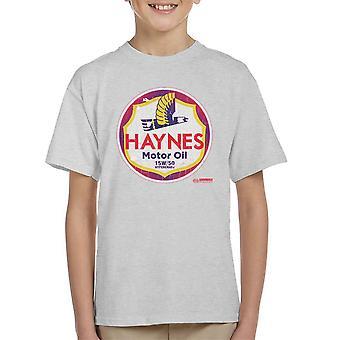 Haynes Marke Richfield Motoröl Kinder T-Shirt