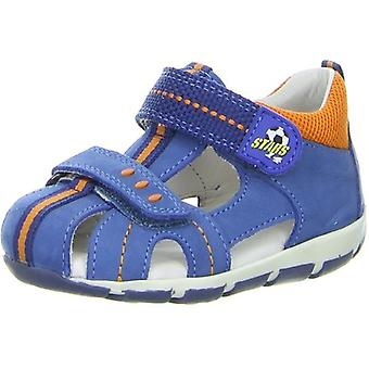 Superfit Freddy 139-91 Boys Closed Toe Sandal Blue