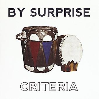 Som en overraskelse - importerer kriterier [Vinyl] USA