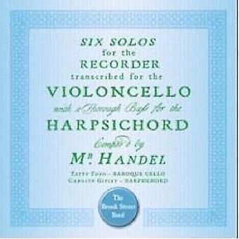 G.F. Handel - Handel: Importación USA seis Sonatas del violoncelo [CD]