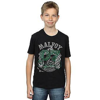 Harry Potter chłopców Draco Malfoy Seeker T-Shirt