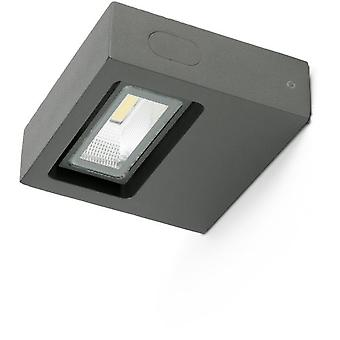 Faro Bcn Taima Grey Wall Lamp Dark Led 6W 3000K