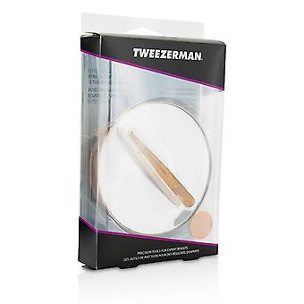 Tweezerman Rose Gold Mini Slant Tweezer And 10X Mirror - -
