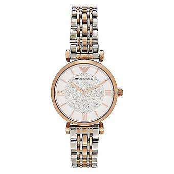 Armani Watches Ar1926 Two Tone Stainless Steel Ladies Watch