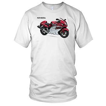 Suzuki GSX1300R Hyabusa clásico Superbike las señoras T Shirt