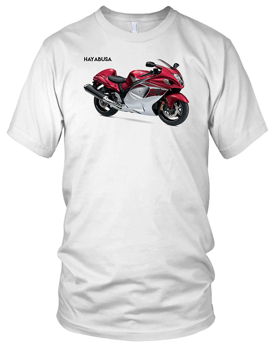 Suzuki GSX1300R Hyabusa Classic Superbike Damen T Shirt