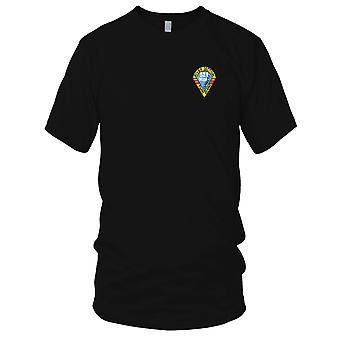 US Navy Rivsec 521 River Section Embroidered Patch - Mens T Shirt