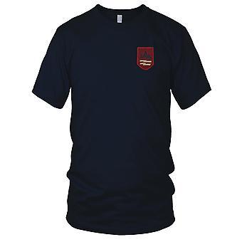 22 4MILIONÓW piechoty dywizji - czerwony wojskowe insygnia wojny wietnamskiej naszywka - męskie T Shirt