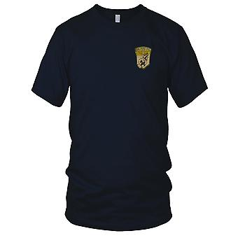 USMC Marine Aircraft Group 11 - Military Vietnam War Embroidered Patch - Mens T Shirt