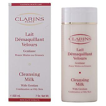 Clarins Cleansing Milk With Gentian Combination or Oily Skin