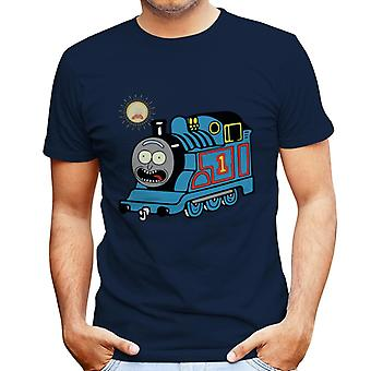 Rick And Morty Thomas The Tank Engine Men's T-Shirt