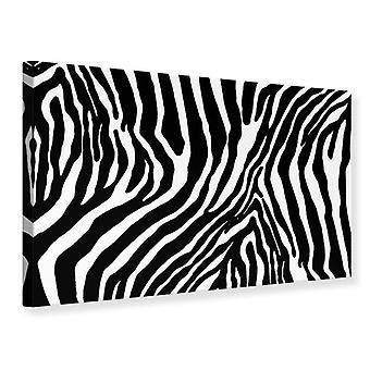 Canvas Print Photo Wallaper Zebra Pattern