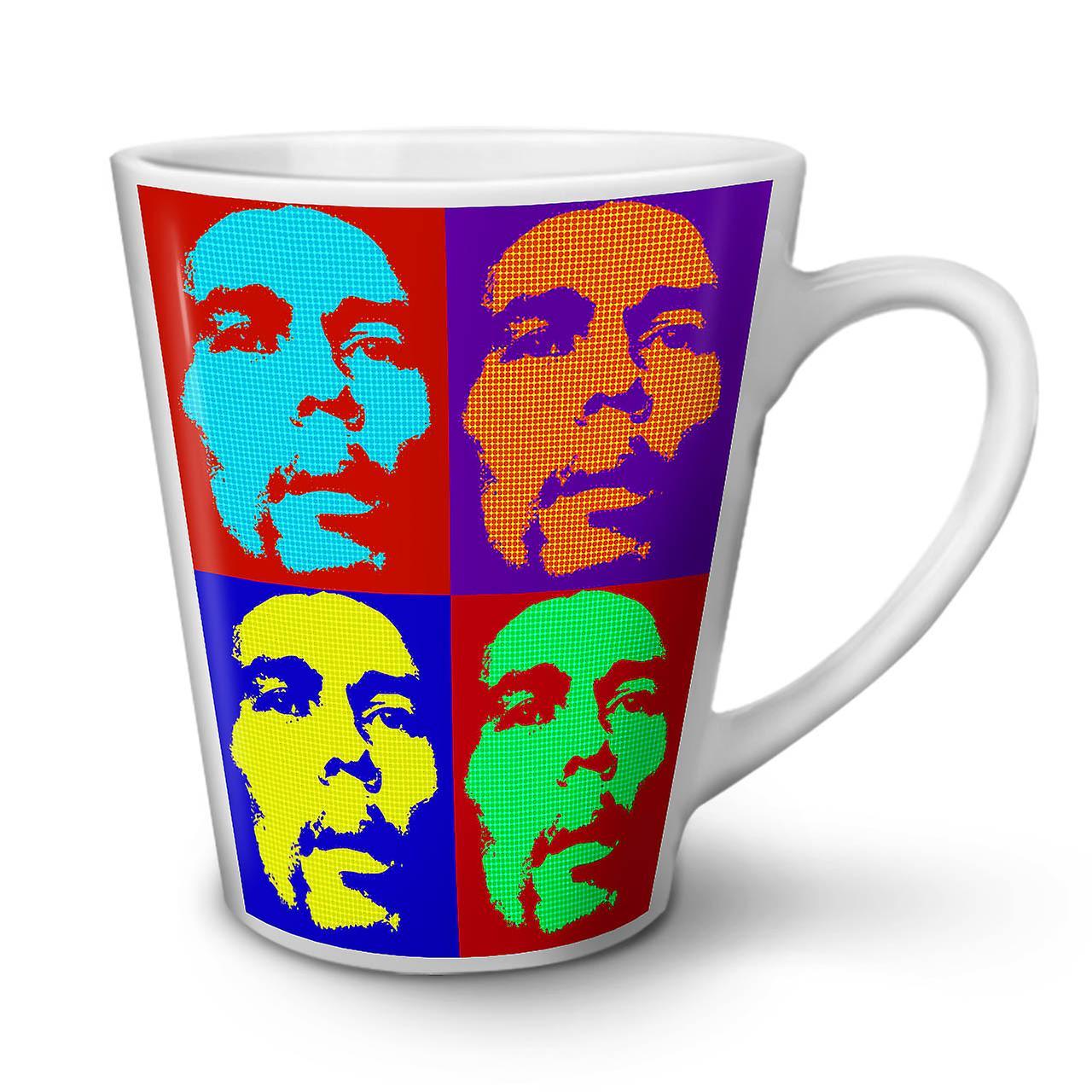 De Nouvelle Latte Thé Café Pot Marley OzWellcoda Célébrité Céramique 12 Star Blanc Tasse En 5RL4jA