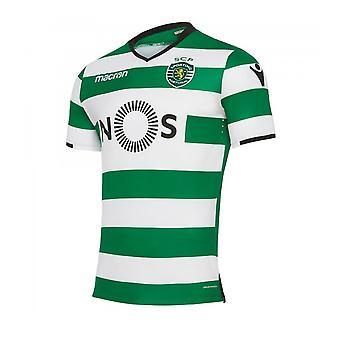 2017-2018 sporting Lissabon authentische Heimspiel Shirt