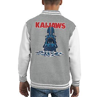 Kaijaws Pacific Rim Kaiju Jaws Kid's Varsity Jacket