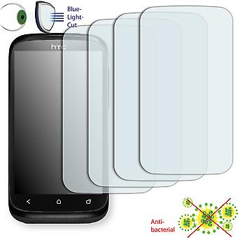 HTC T328e screen protector - Disagu ClearScreen protector (deliberately smaller than the display, as this is arched)
