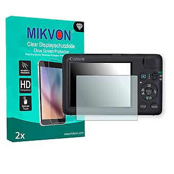 Canon PowerShot SD940 IS Screen Protector - Mikvon Clear (Retail Package with accessories)