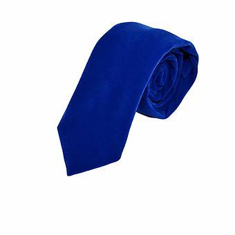 Luxe Royal Blue Velvet Tie