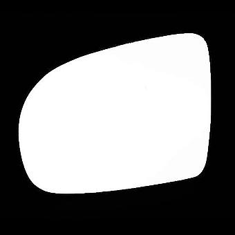 Left Stick-On mirror glass for Vauxhall CORSA 1993-2000