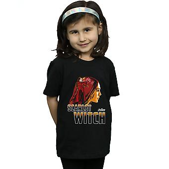 Avengers Girls Infinity War Scarlet Witch Character T-Shirt