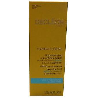 Decléor Paris Hydra Floral Anti-Pollution Fluide Hydratant Spf30 50 Ml