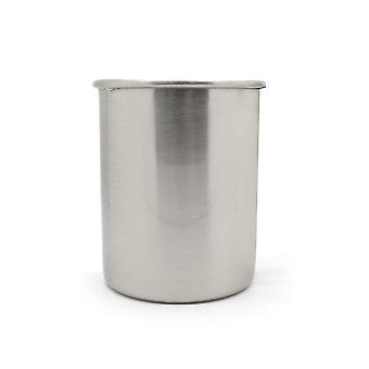 Contemporary Silver Indoor Planter Pots