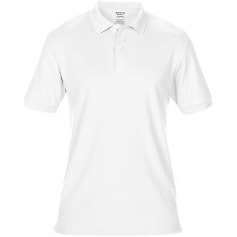 Gildan Mens Dryblend dubbel Pique Sport skjorta