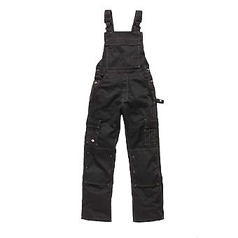 Dickies Mens Workwear Industry 300 Twotone Bib & Brace Black IN30040B
