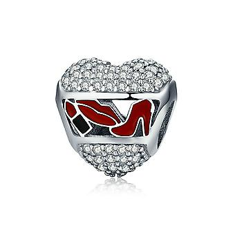 Sterling silver charm Love cosmetics SCC627