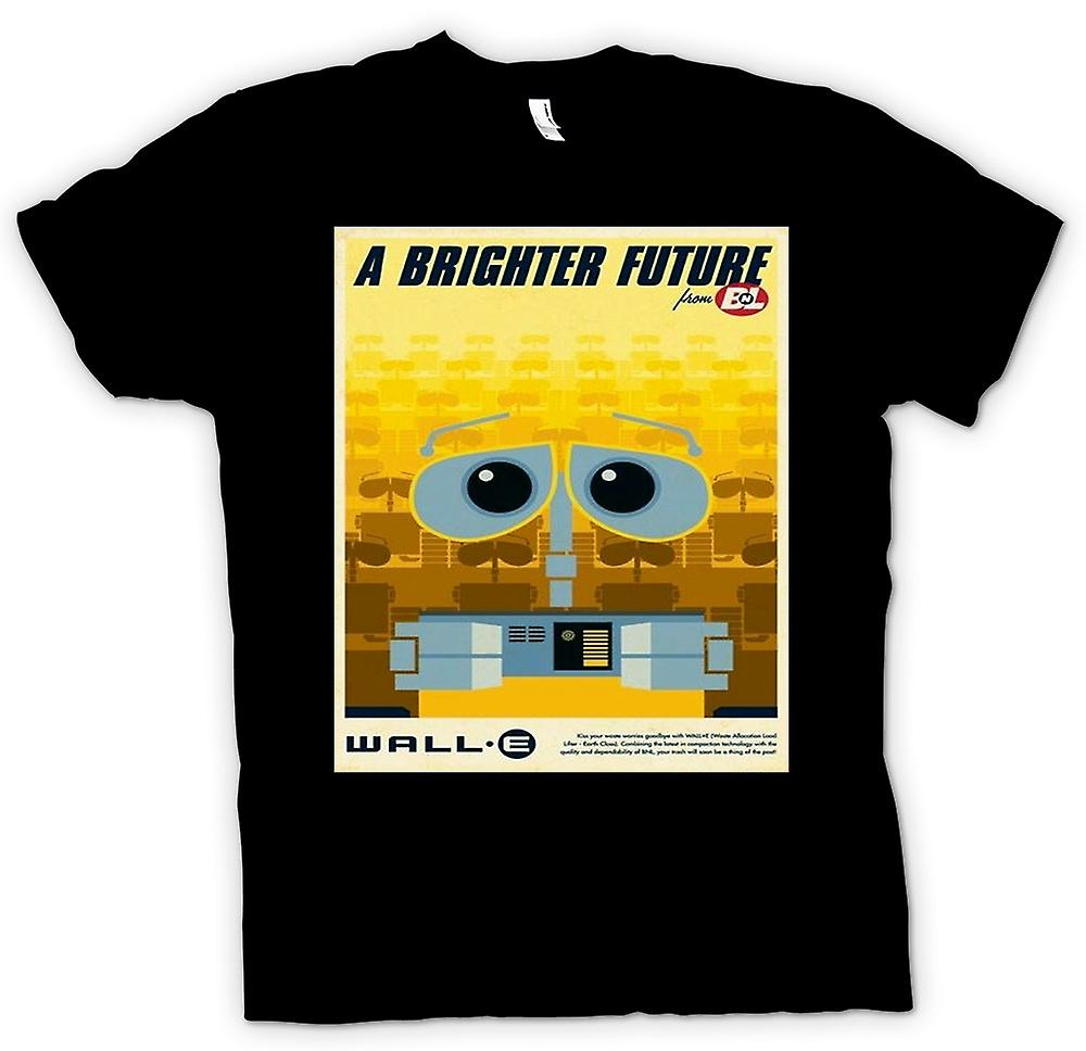 Mens t-shirt - Wall E - più luminoso futuro - Robot