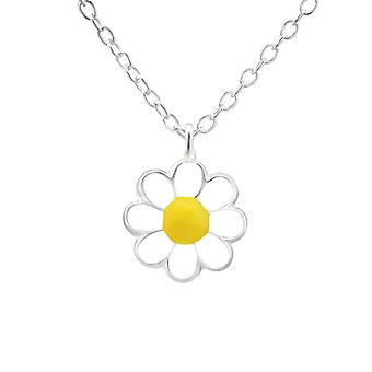 Flower - 925 Sterling Silver Necklaces - W20346X