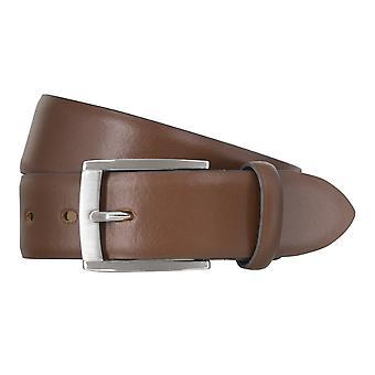 LLOYD Men's belt belts men's belts leather belt brandy 6612