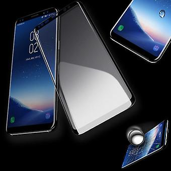 4 d full premium of 0.3 mm curved laminated glass black film for Samsung Galaxy S9 G960F